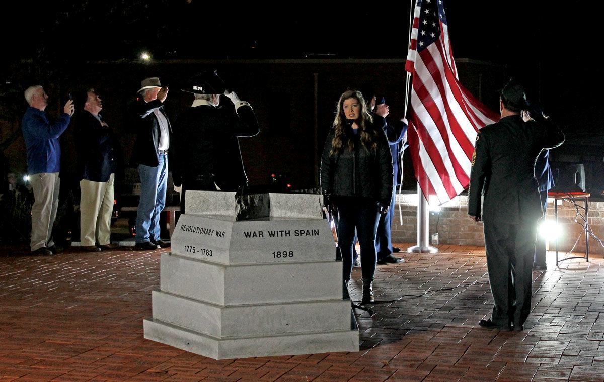 Hamblen Veterans Memorial dedicated