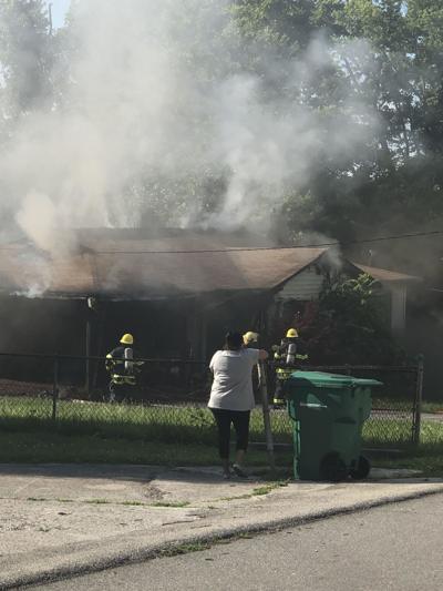 Fire on Gilbert Street