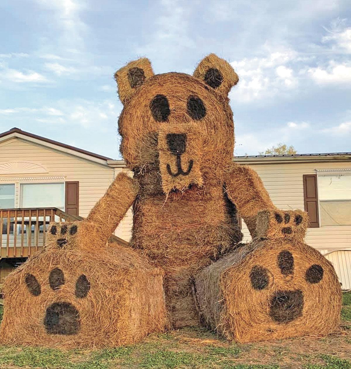 Parents and Kids enjoy bear-themed scavenger hunt