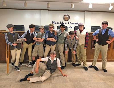 School Board celebrates Meadowview's 'Newsies'