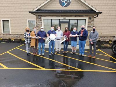 BlueStone Label cuts ribbon