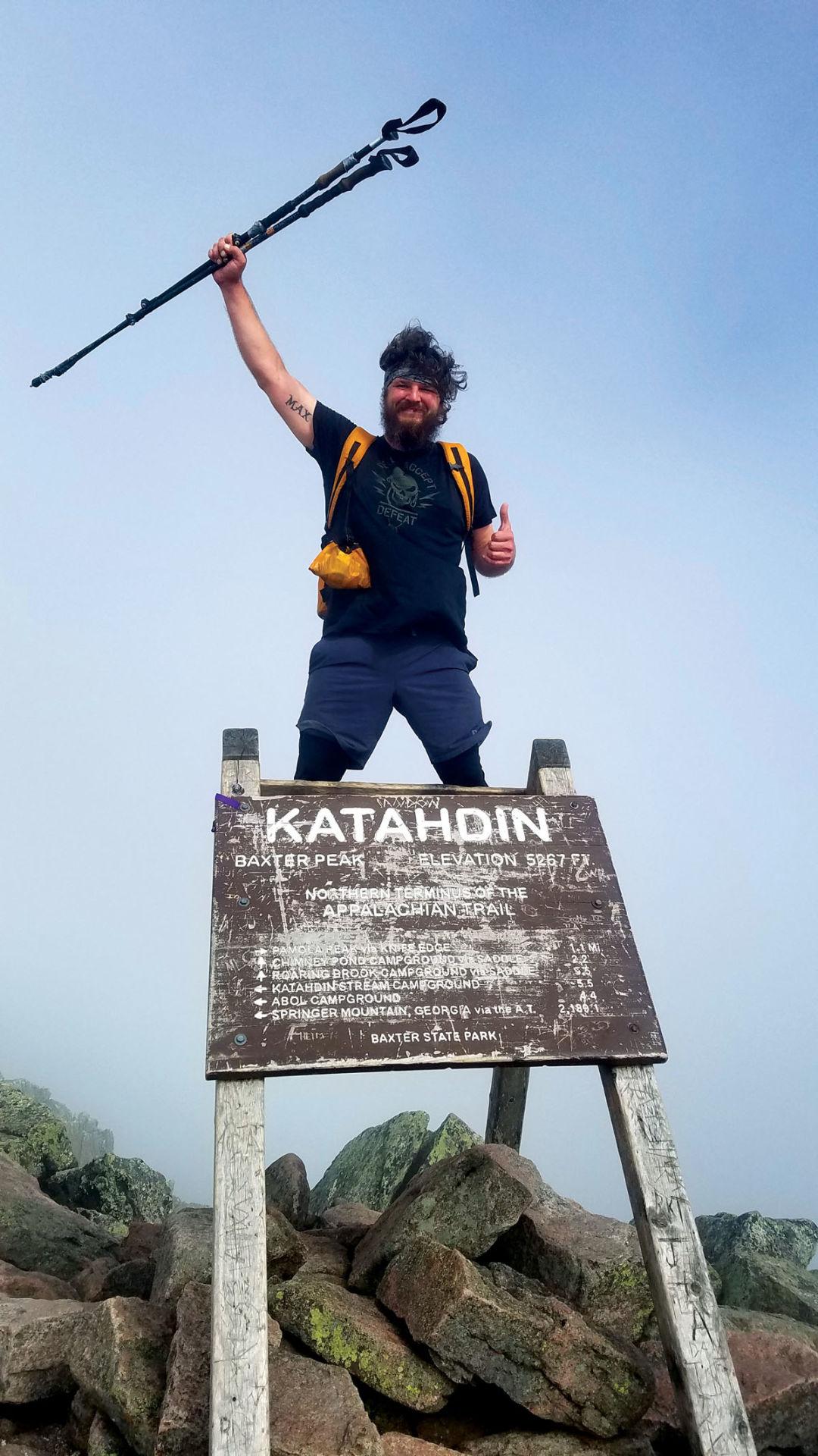 Rogersville man conquers the Appalachian Trail