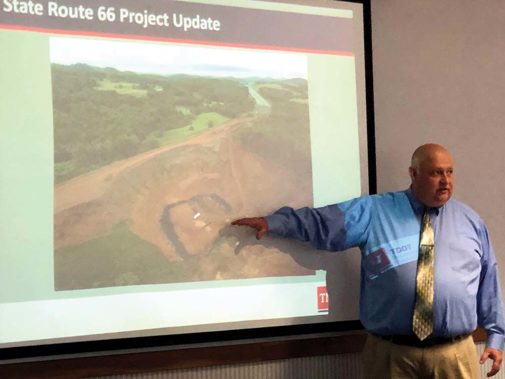 Collapsed Embankment Proving Costly On Route 66 Project Local News