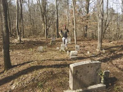 Revolutionary War veteran's descendant leads charge to clean up remote cemetery