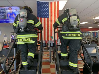 Firefighters honor fallen on 9/11