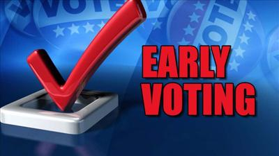 Early voting numbers up in Hamblen County