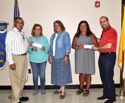 Knights of Columbus awards fund to area non-profits