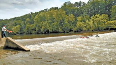 Woman drowns, family rescued at Enka Dam on Nolichucky River