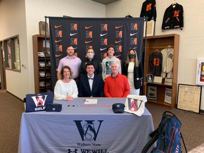 Spoone signs with Walters State for golf