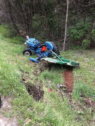 Drivers injured in semi versus tractor crash