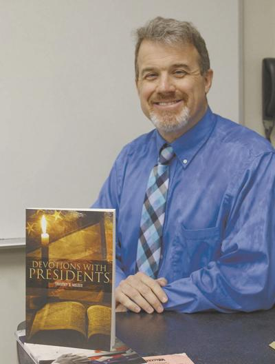 WSCC professor and author celebrates Presidents' Day