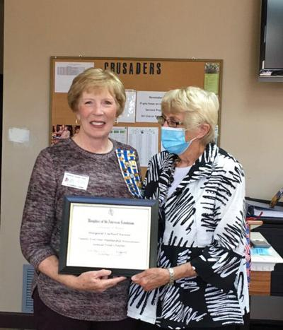 Margaret Renner receives  25-year honor from NSDAR