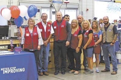 Morristown Lowe's celebrates longest tenured employee in company
