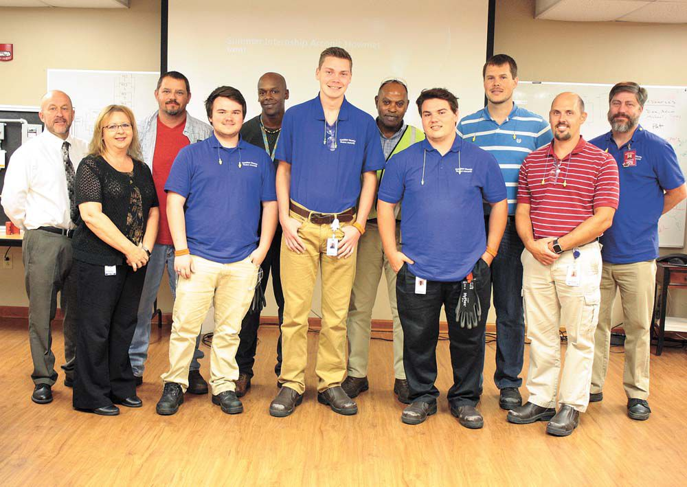Interns learn workforce lessons at arconic local news for General motors internship summer 2018