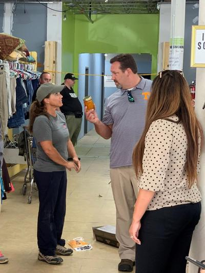 Tennessee's First Lady Maria Lee visits Cocke County