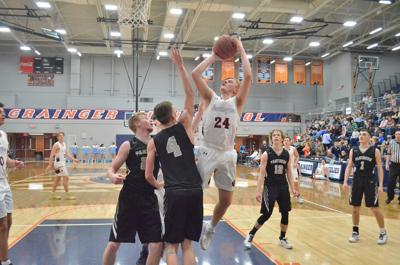 Grizz survive and advance, take out Cumberland Gap 64-34