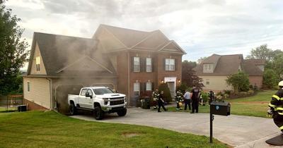 Fire damages home on Derbyshire Court
