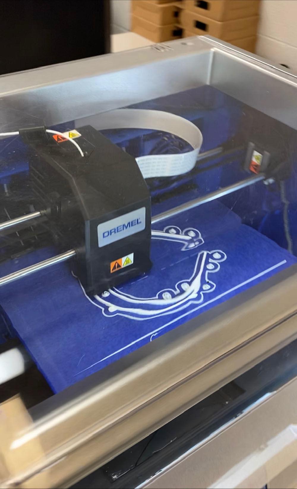 TCATs using 3D printers to assist health professionals