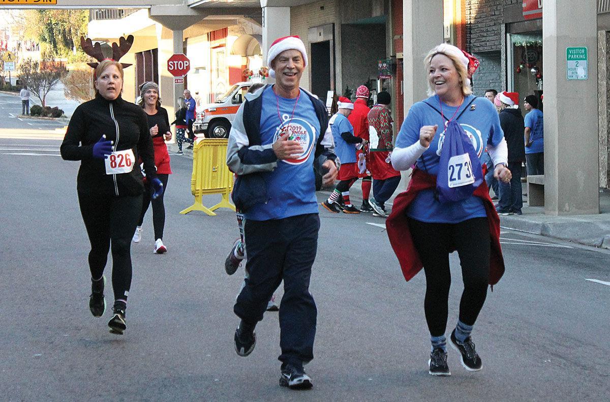 Jingle Run raises money for patient assistance