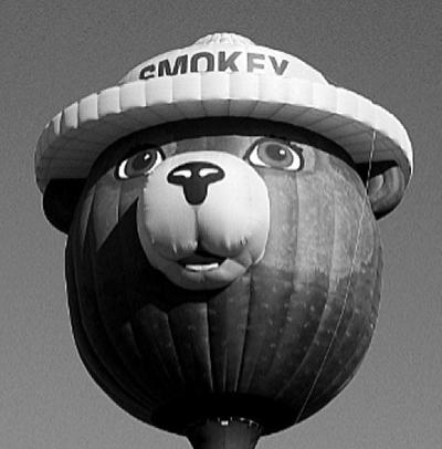 Smokey Bear Balloon coming to White Pine balloon fest