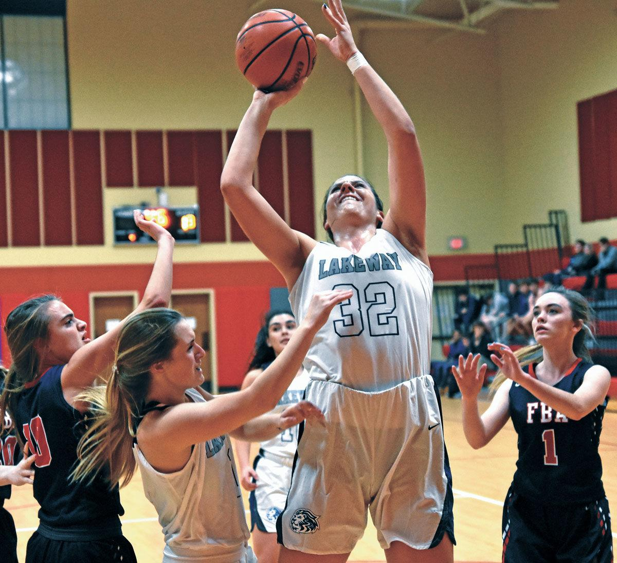 Lakeway Christian holds First Baptist Academy to two first quarter points in 87-41 win