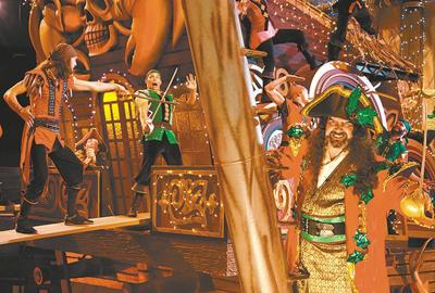 Holiday show premieres Nov. 1 at Pirates Voyage Dinner & Show