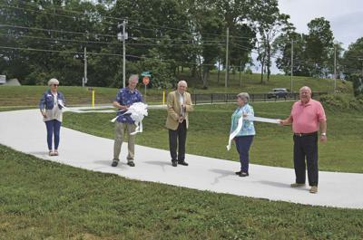 City cuts ribbon on greenway trail