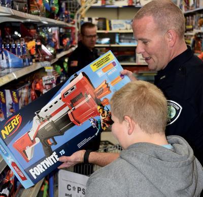Shop with a Cop a big hit
