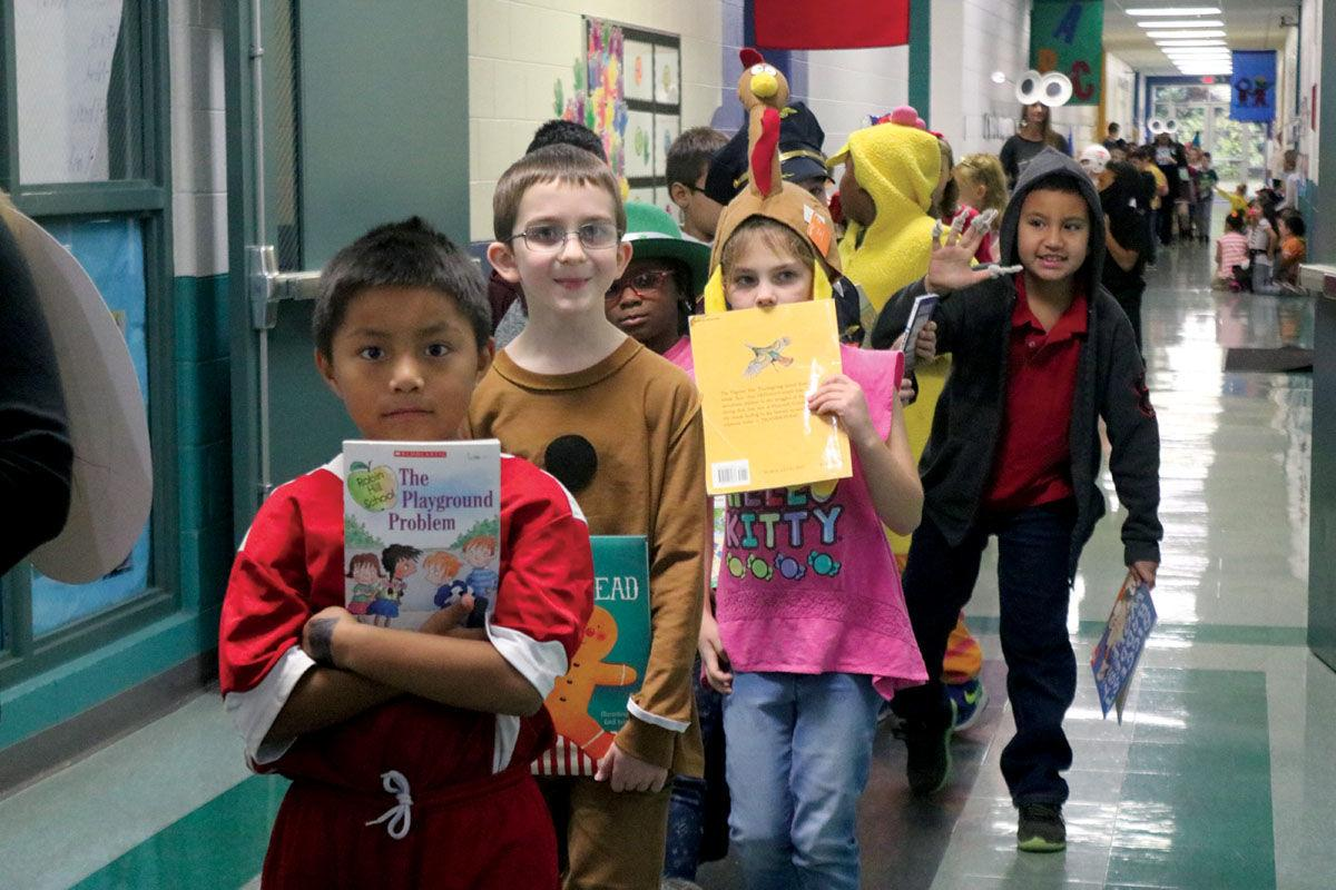 Manley Elementary hosts Book Character Day