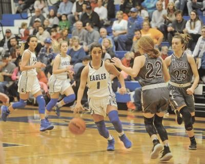 Second half surge leads Lady Tornadoes over Cosby