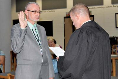 Miller sworn in as director of Claiborne Co. Schools