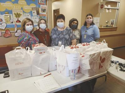 FUMC class gives lunch to health department workers