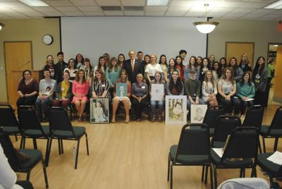 Cocke County students, teacher take top awards in First District Congressional Art Competition