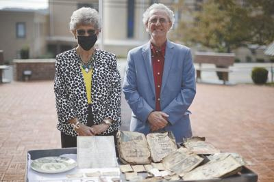 Officials disappointed after opening time capsule; prepping to bury new one