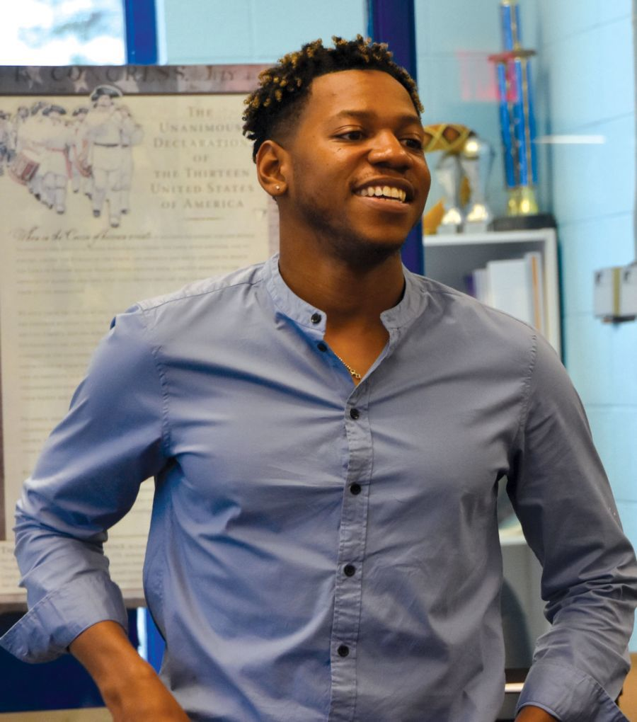 Chris Blue visits Morristown Boys & Girls Club in advance of November concert