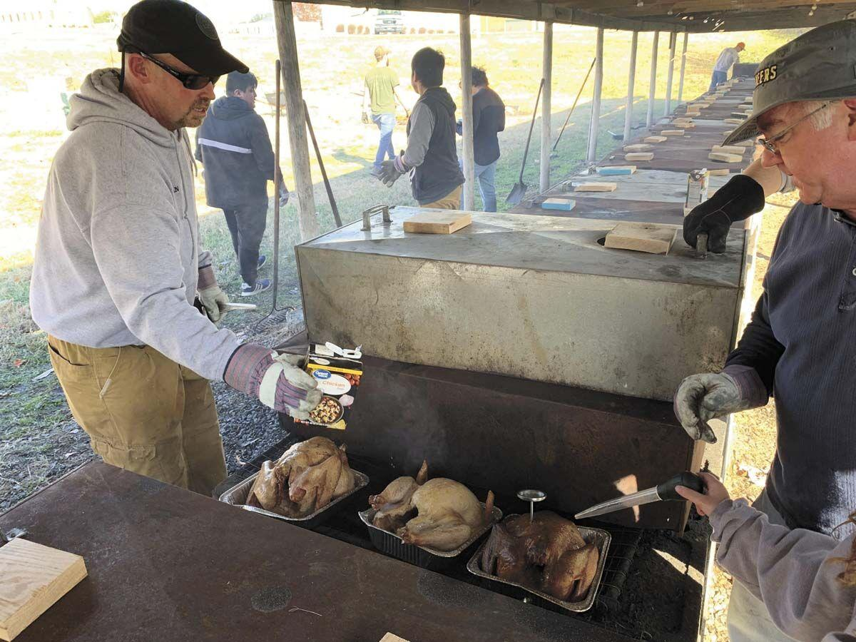 MATS raises funds for holiday season with  smoked turkey fundraiser