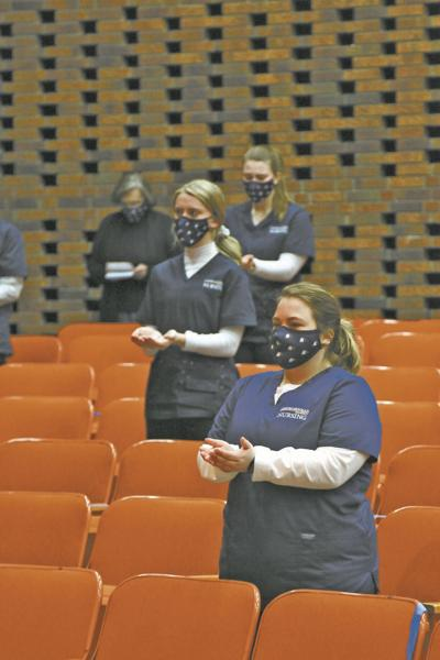 Carson-Newman University holds Blessing of the Hands ceremony for nursing students