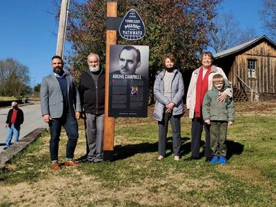 Archie Campbell honored with Music Pathways marker
