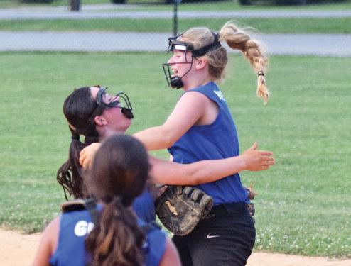 Morristown rallies past Smith County, into Junior League softball