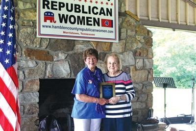 Republican women hold annual picnic