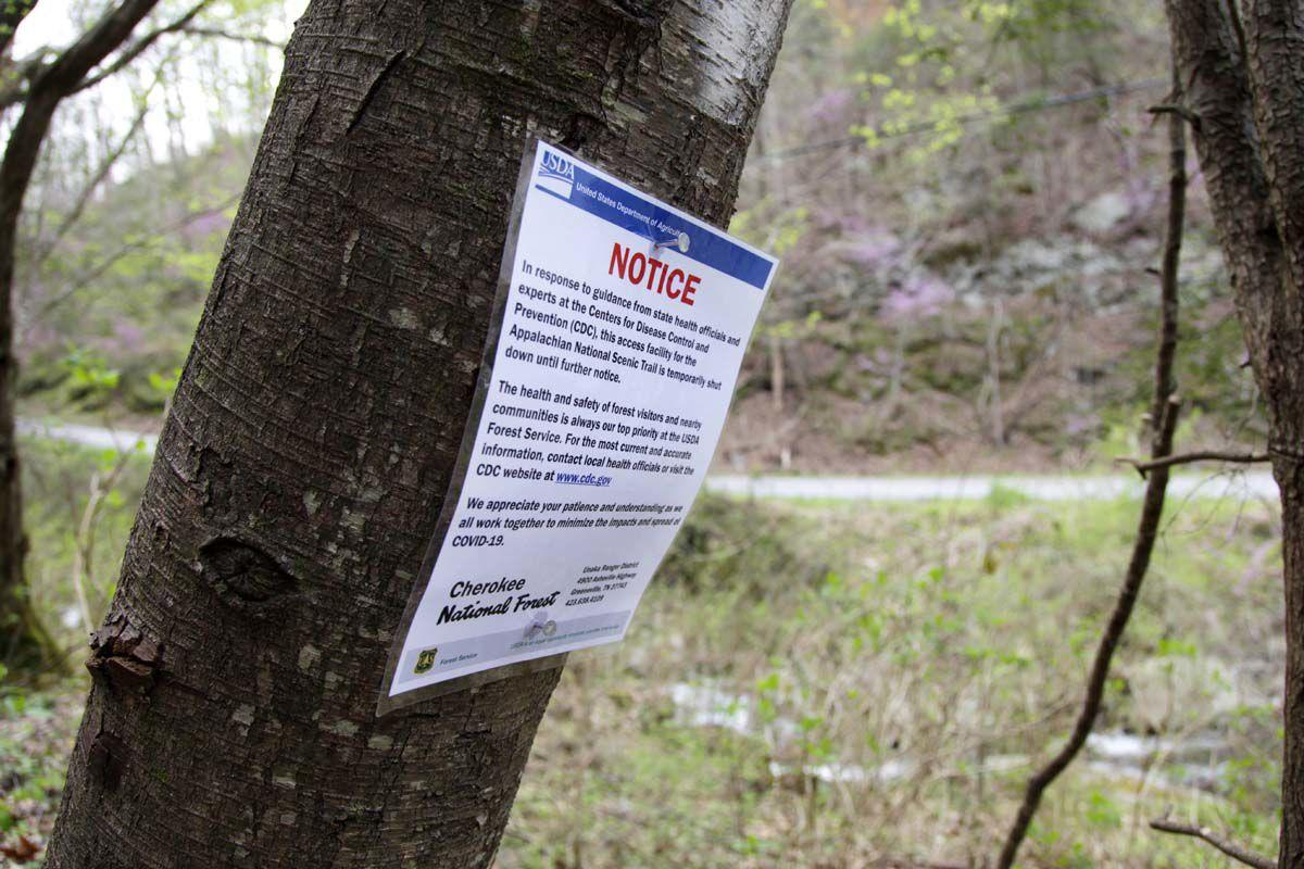 Virus Outbreak Appalachian Trail Hikers