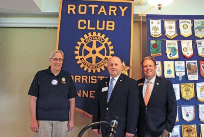 Rotary Noon Club welcomes district governor