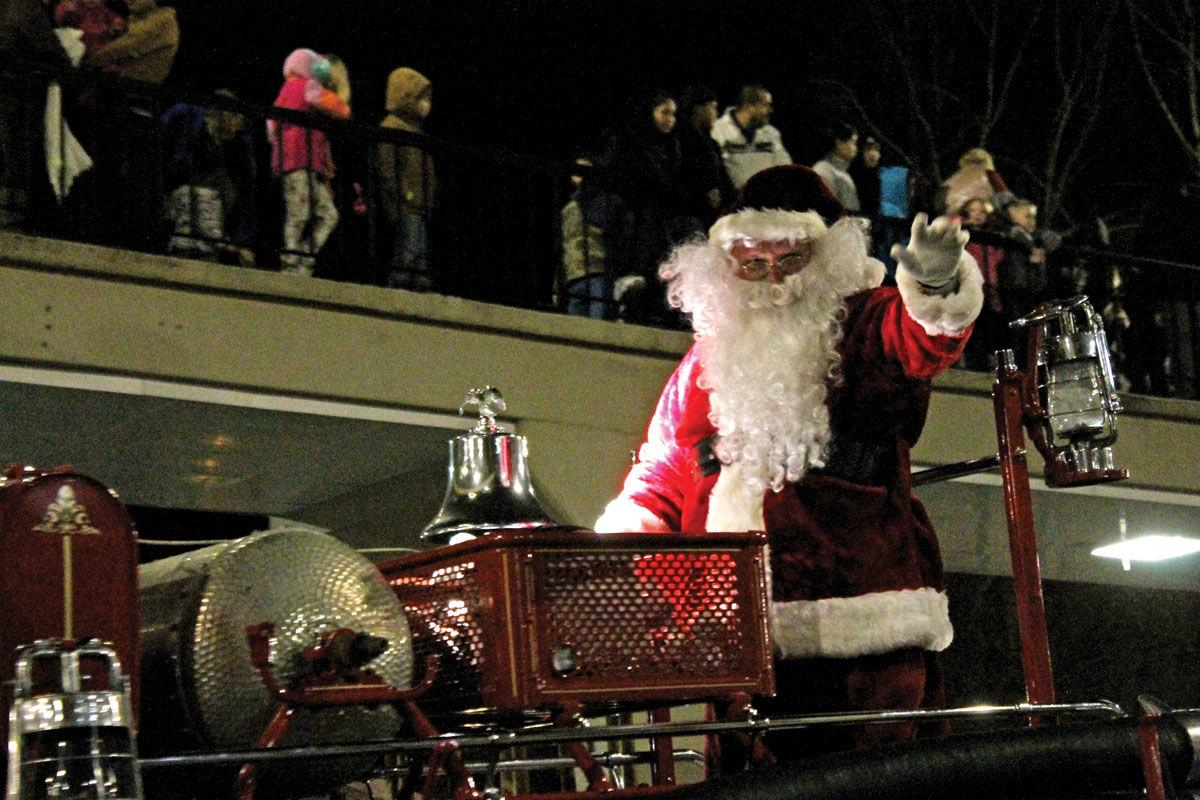 Morristown holds annual Christmas parade