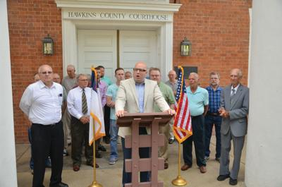 Faithful gather to pray for the nation in Rogersville