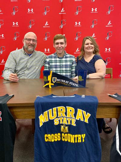 Cherokee cross country standout Austin Kirkpatrick signs with Murray State