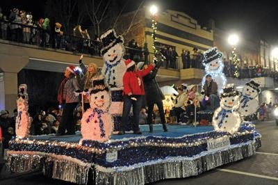 Parade launches week of Christmas events