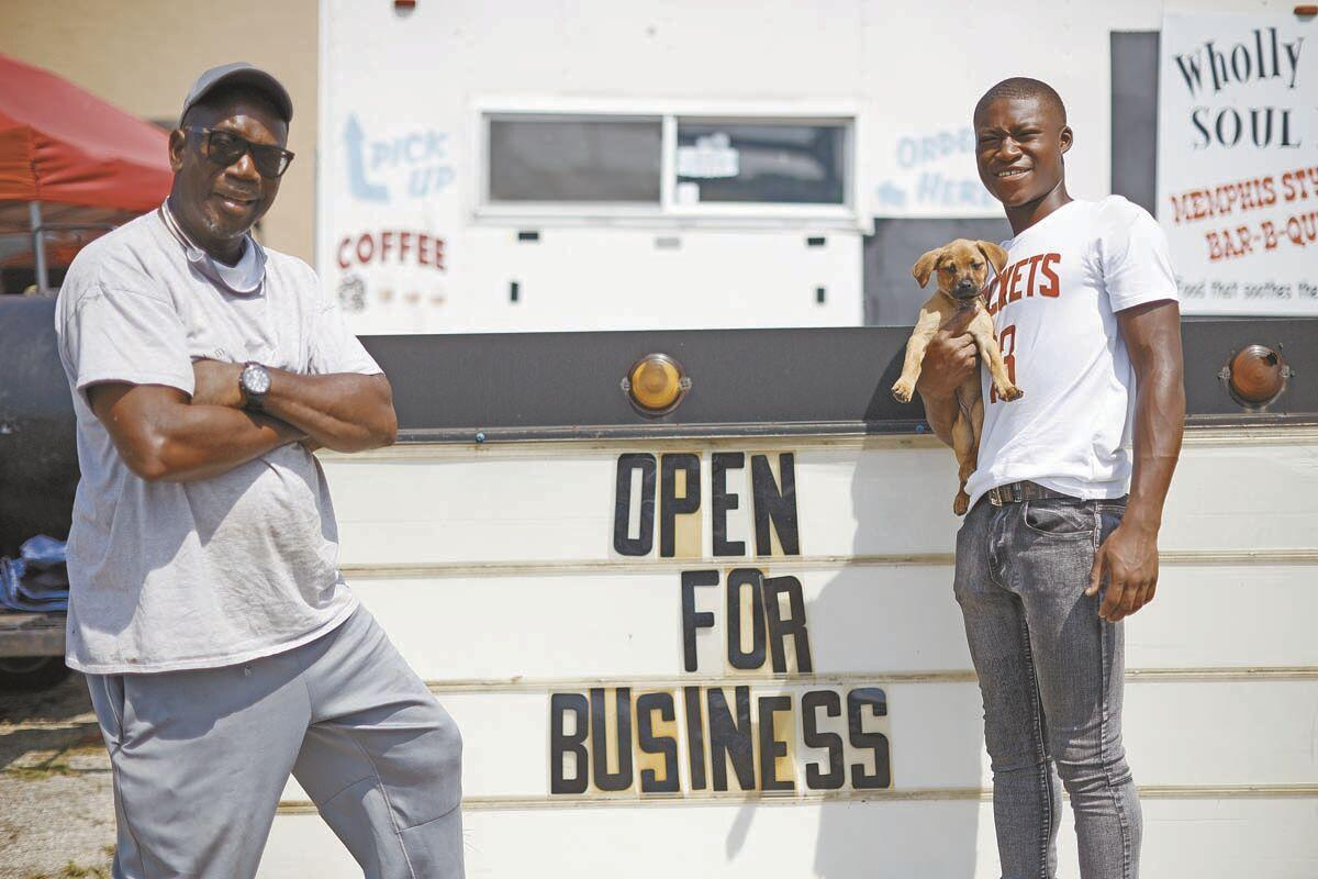 McGowan partners with grandson to open soul food truck