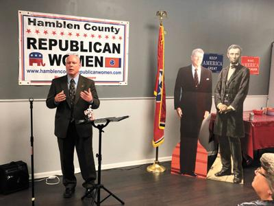 Hawk gearing up for congressional run, talks to GOP women