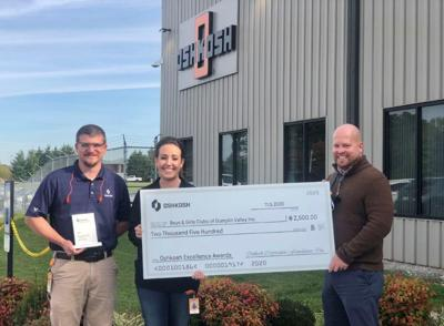 Osh Kosh's Excellence demonstrates support of the Boys & Girls Clubs of Dumplin Valley