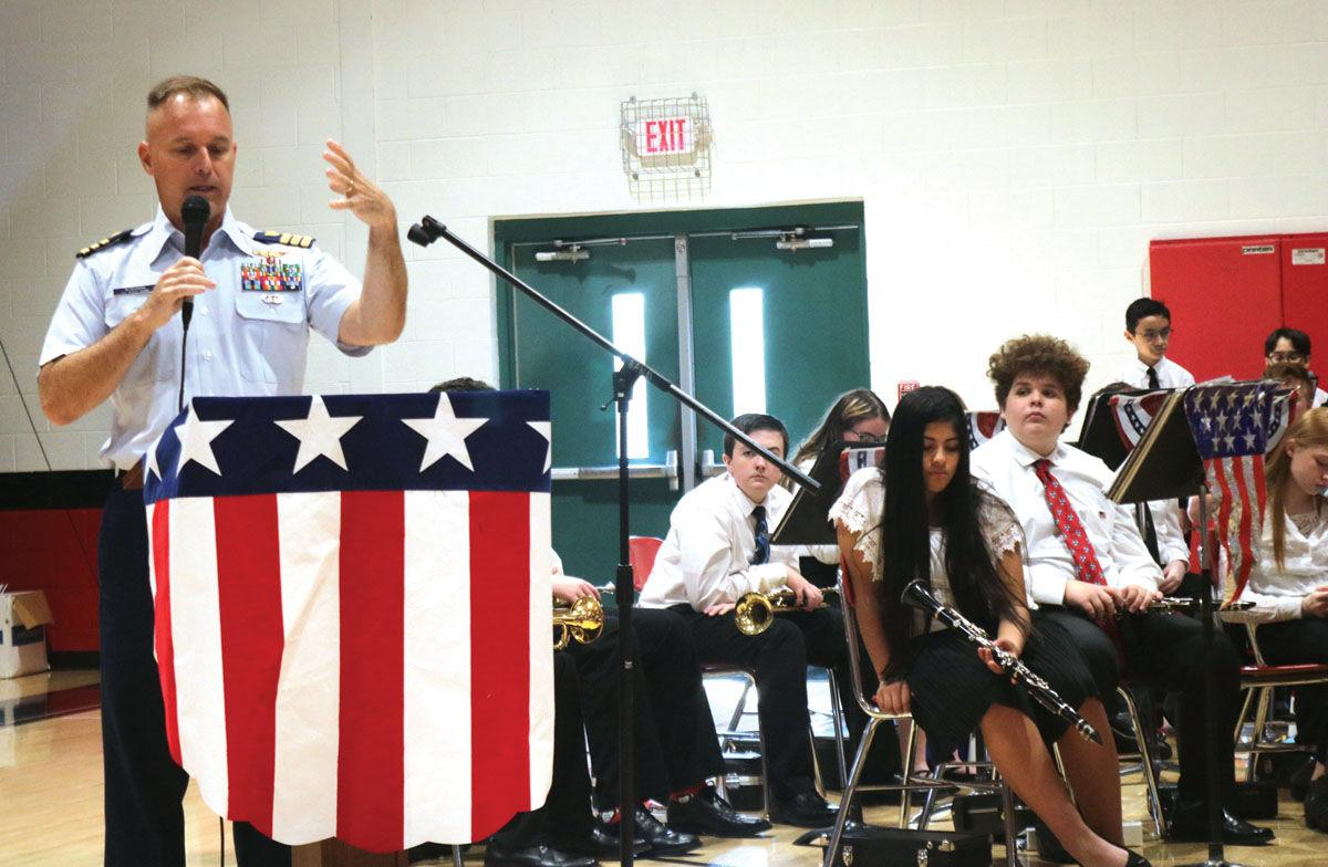 Hamblen County Schools celebrate local veterans